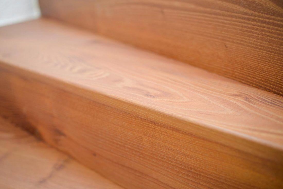 Holztreppe Akazie