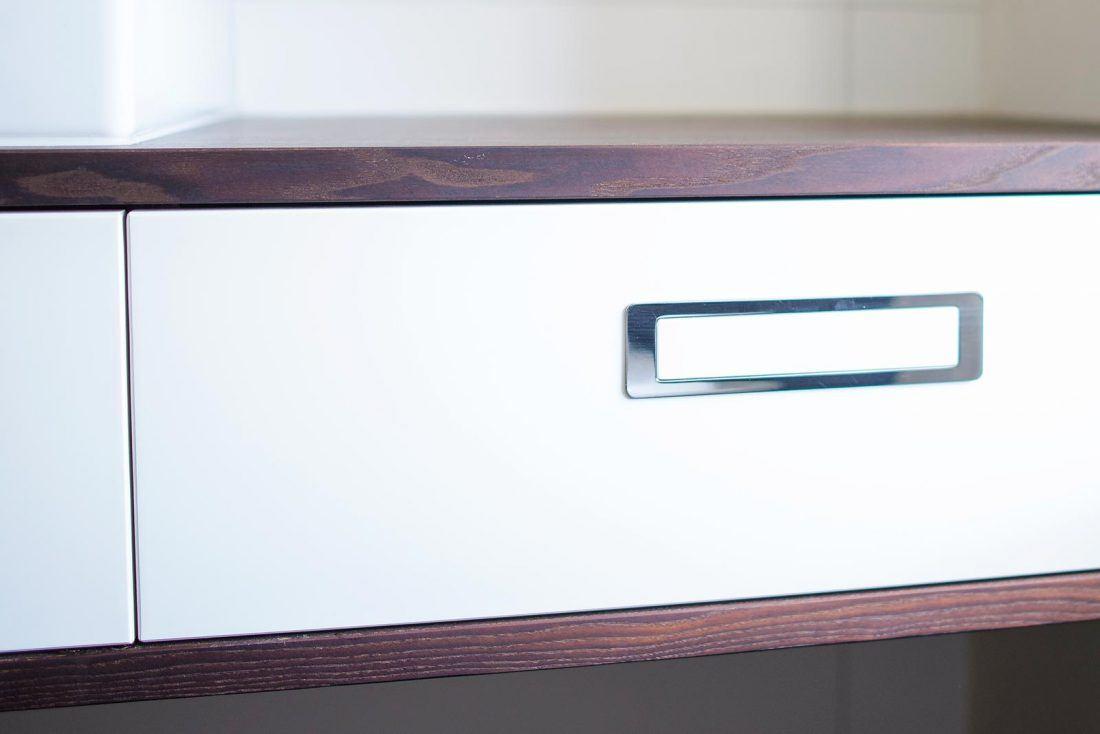 Waschtisch Thermo-Esche Schublade