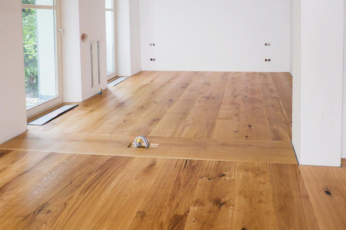 Holzboden massiv