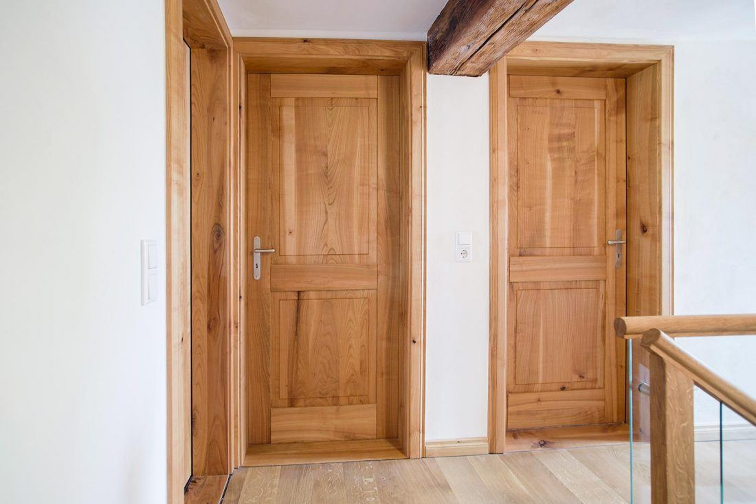 Holztüre Kirschbaum