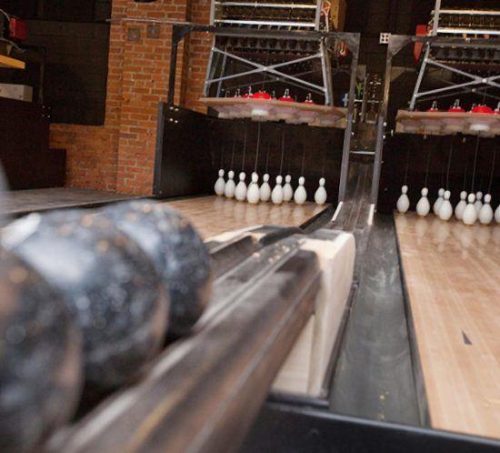 Ladenbau Bowling